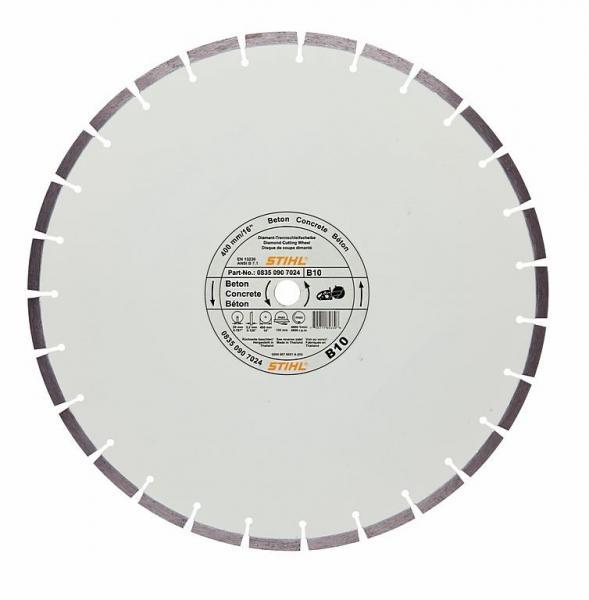 Teemantketas 400mm (B10) betoon