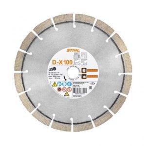 Teemantketas D-X100 230mm UNIVERSAAL
