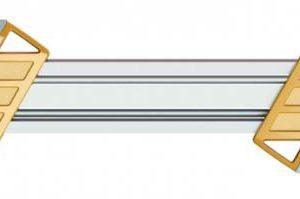 Teritusraam viilid hoidjaga 2-in-1 4,8mm