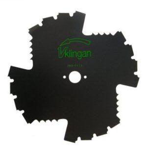 Võsalõikaja tera V-Klinga 225mm 25,4mm