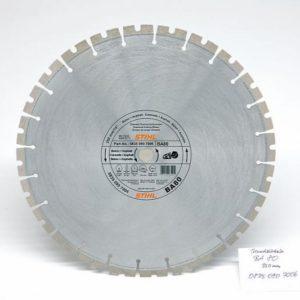 Teemantketas 350mm (BA80) betoon,asfalt