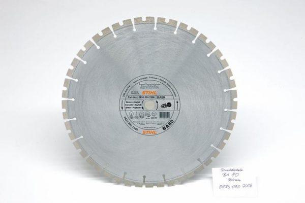 Teemantketas 350mm (BA80) betoon
