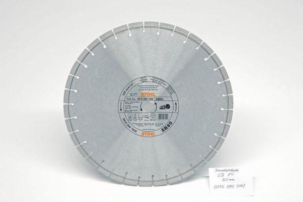 Teemantketas 350mm (SB80) betoon