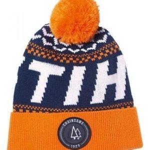 Müts kootud urban chaisaws sinine/oranz tutiga