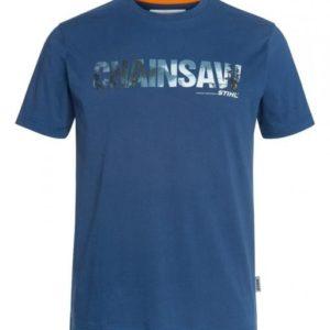 T-Särk CHAINSAW sinine