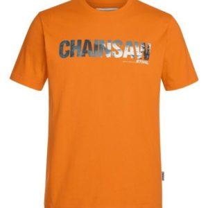 T-Särk CHAINSAW oranž