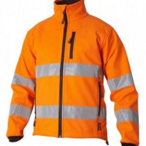 Top Swede KAYENTA softshell jakk HIVIS oranž XL